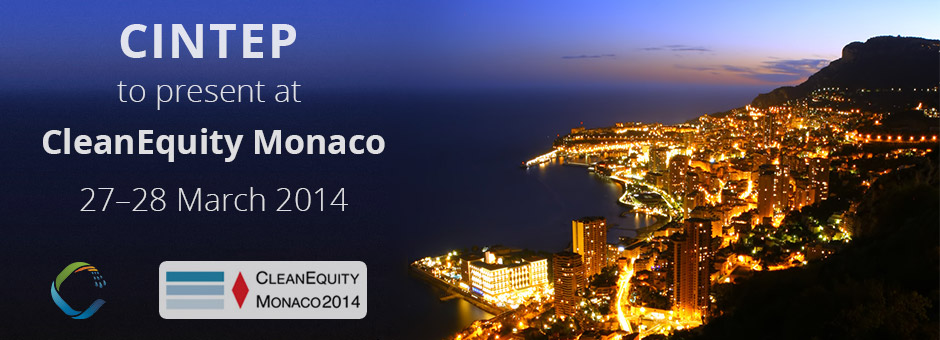 CINTEP at CleanEquity Monaco