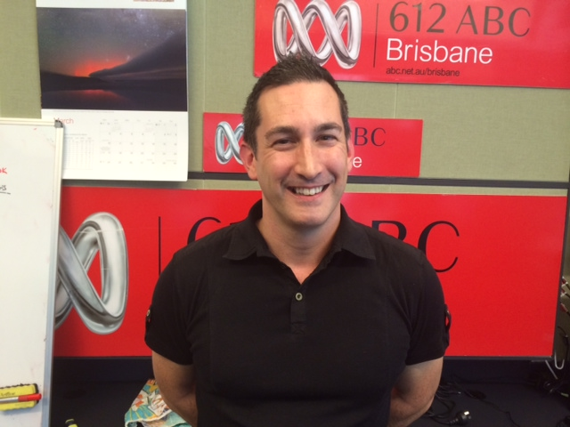 Nick Christy, CINTEP CEO at 612 ABC Brisbane radio